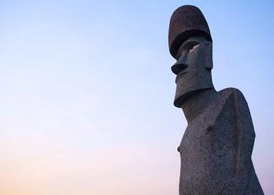 """Moai """"Living for the future"""""""