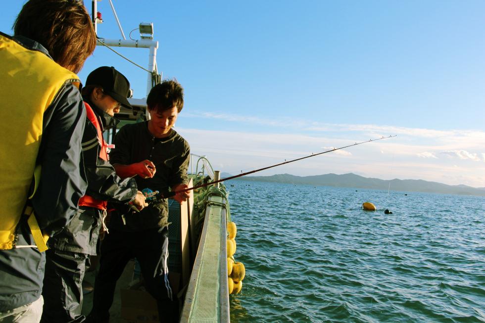 Boat-fishing & Fishery (Konpiramaru)