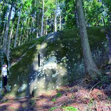 Megaliths at the foot of Mt. Shingyodo