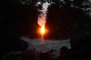 2月中旬は『神割崎の日の出』