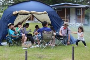 2017年度(2017年4月〜)のキャンプ場予約受付開始