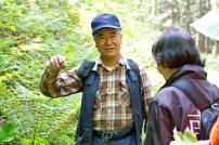 ガイド役は森林インストラクターの後藤さん