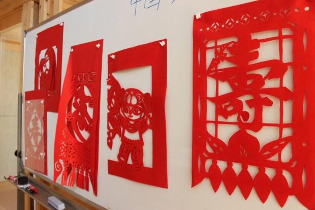 中国の切り紙(剪紙)ワークショップ