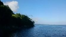 ホテル観洋方面から見える海