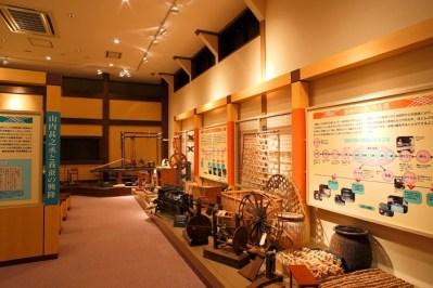 絲綢館內部