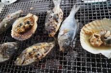 刺し網漁のおさかな食べつくし&神割崎キャンプ場でBBQ!