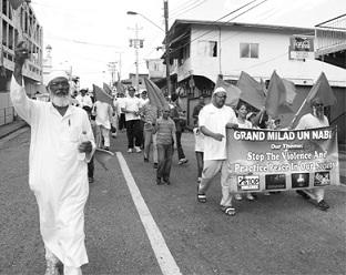 Trinidad Muslims March Against Crime
