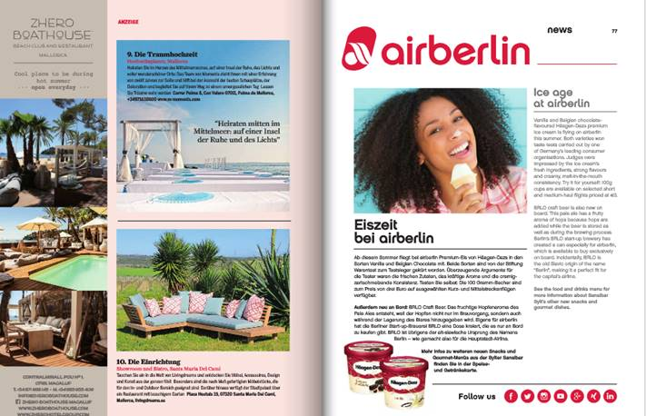 Air Berlin Magazine