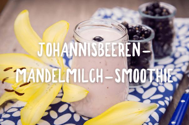 JOHANNISBEEREN-MANDELMILCH-SMOOTHIE