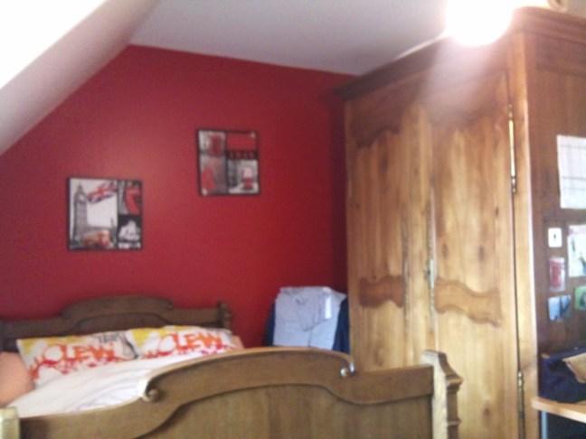 Mise en peinture de chambres sur la commune de Mercatel - Ecopro Peinture