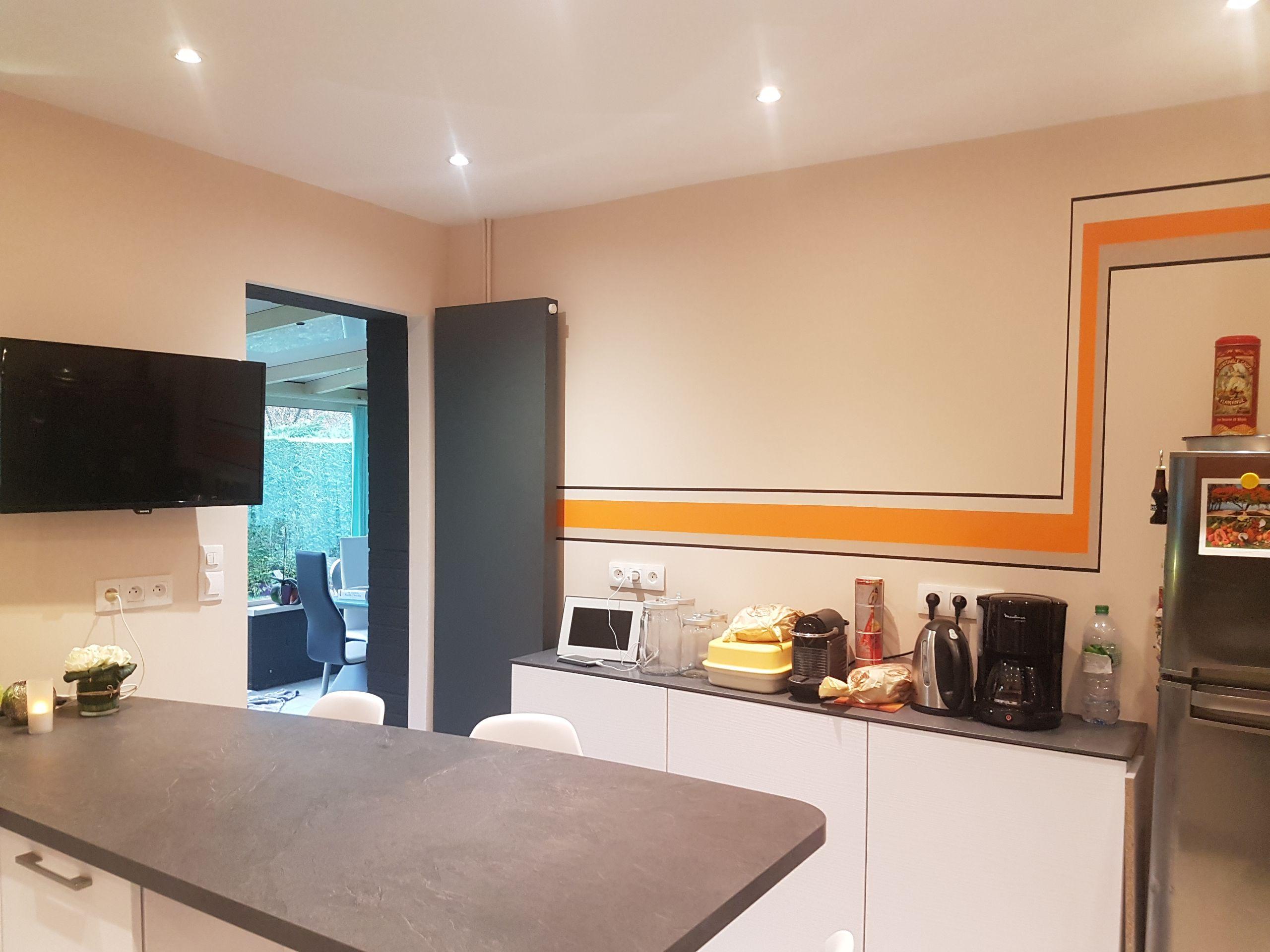 Rénovation d'une cuisine contemporaine sur Dainville