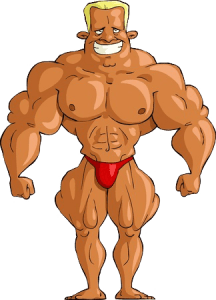 big bodybuilder