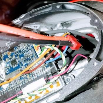 cable batterie externe M365 pro