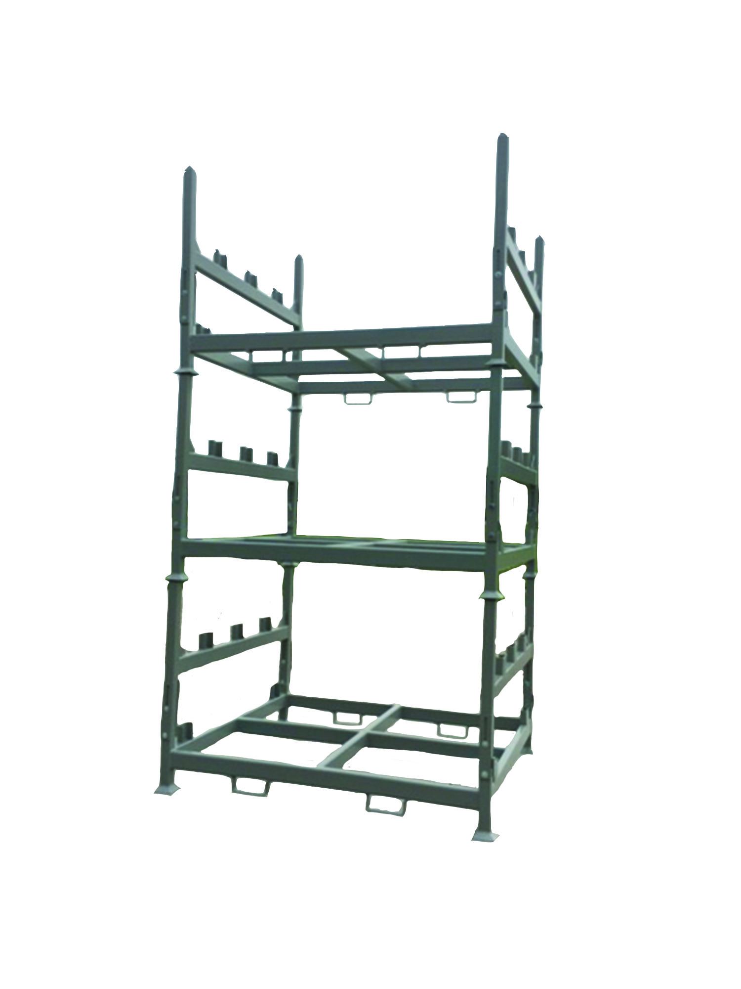 Collapsible Stack Rack