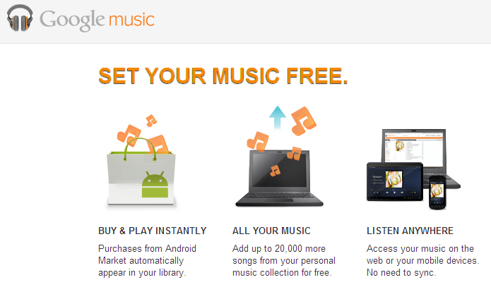How to use Google Music on Your PC and Android phone from Outside US~