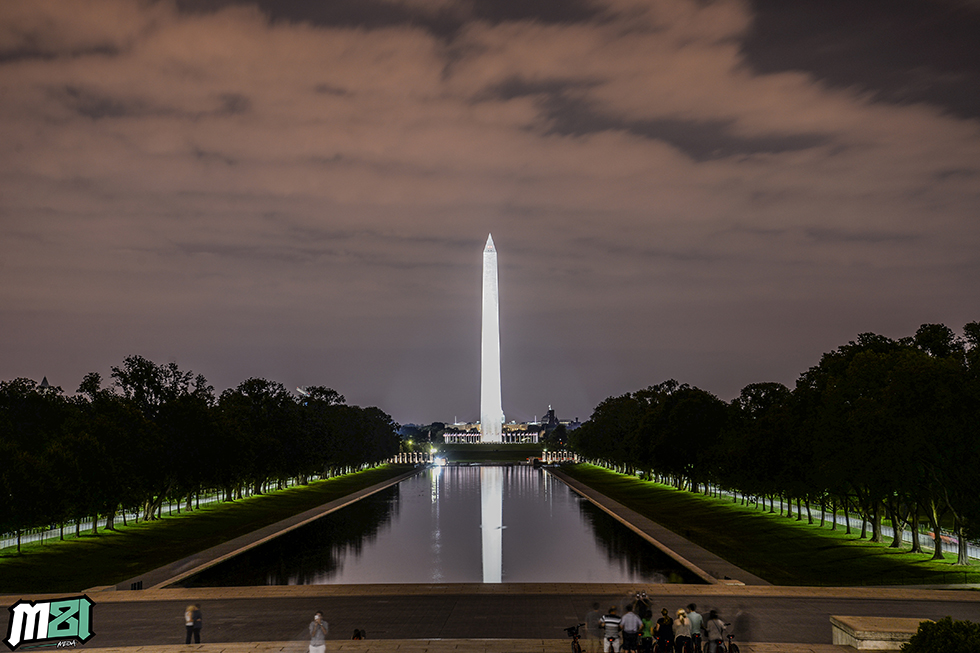 Washington Monument At Night Washington D.C.