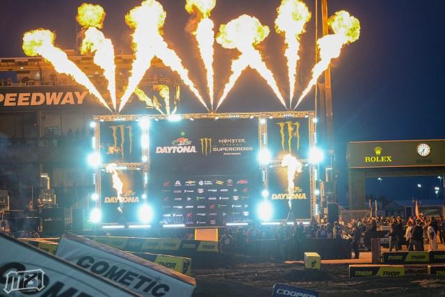 Monster Energy Supercross Daytona Podium