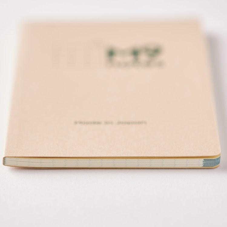 手帳サイズの厚みは4mm