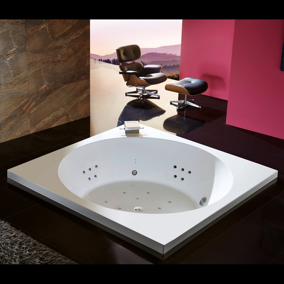 Baignoire Ronde Balneo Maison Design