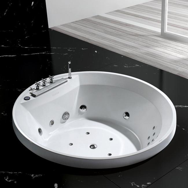 baignoire ronde encastree sanssouci 1600 x 600 mm