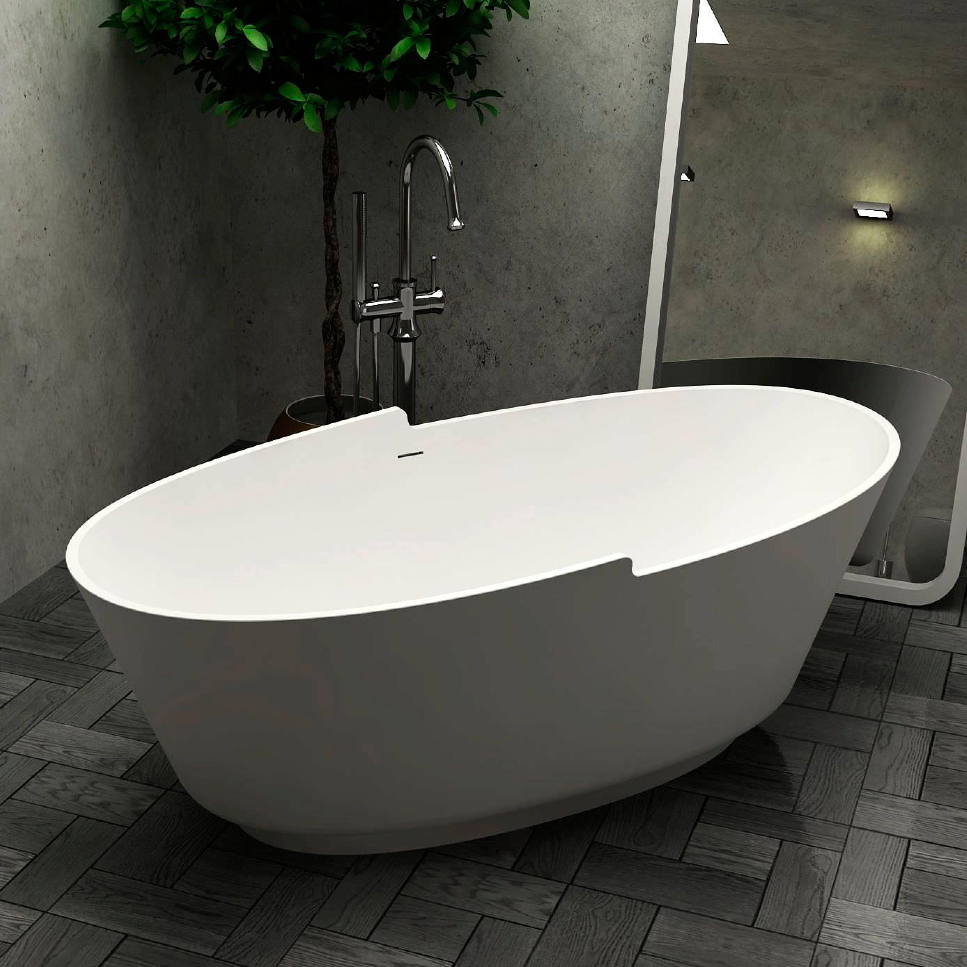 Baignoire Design Stone 167x85x57cm
