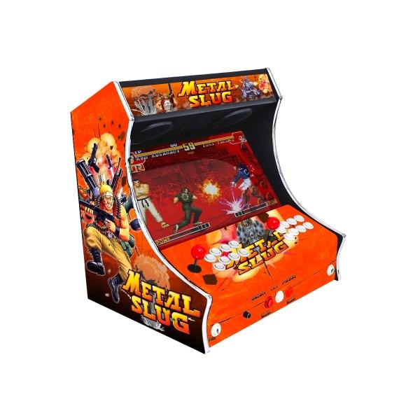 Borne Bartop Metal Slug Côté Gauche ma-borne-arcade.fr