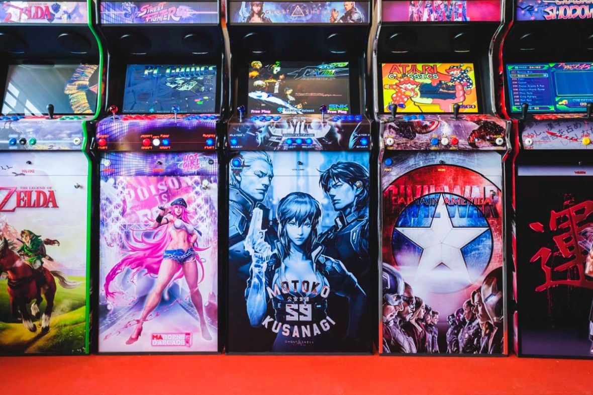 Borne d'arcade XL