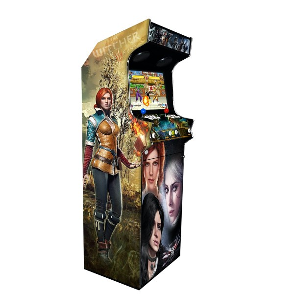 Borne Arcade Classic Profil Droit Modèle The Witcher ma-borne-arcade.fr