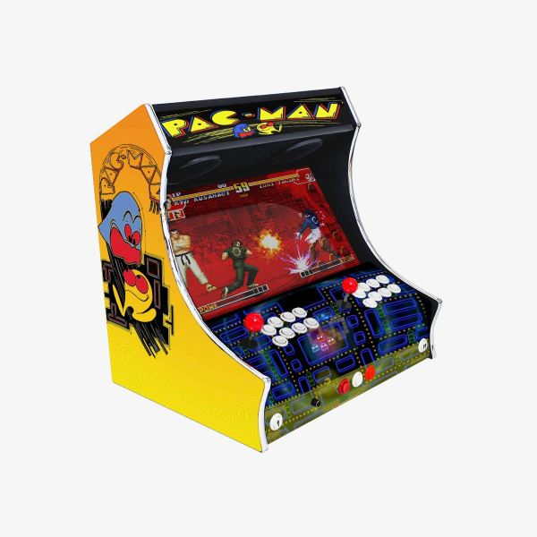Bartop Modèle PACMAN ma-borne-arcade.fr