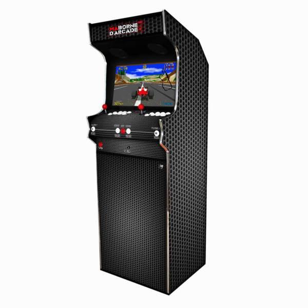 Borne Arcade Classic Profil Droit Modèle Carbon ma-borne-arcade.fr