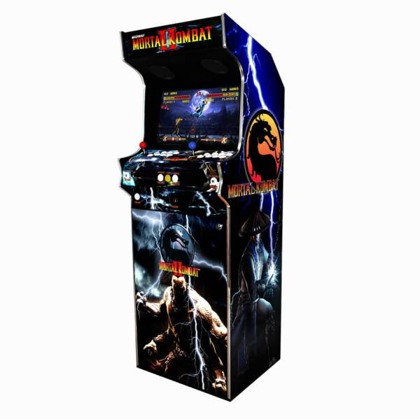 Borne Arcade Classic Profil Droit Modèle Mortal Kombat 2 ma-borne-arcade.fr