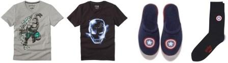 Collection Marvel chez Celio