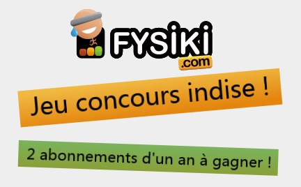 Concours en partenariat avec Fysiki