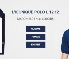 Le polo Lacoste en 2014 : les nouveautés