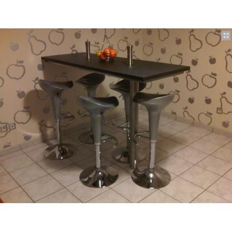 table cuisine style comptoir