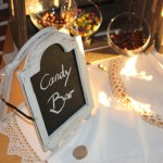 Animation mariage : le candy bar