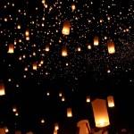 Organiser un lâcher de lanternes volantes pour son mariage