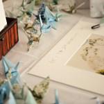 Mariage en origami, création et arts plastiques en perspective