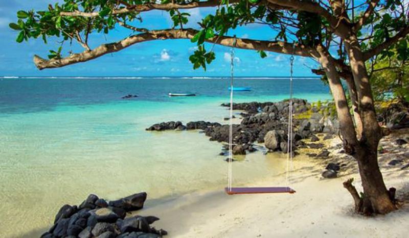 voyage de noces sur l'île Maurice