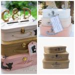 DIY: une urne parfaite pour un mariage sur le thème du voyage
