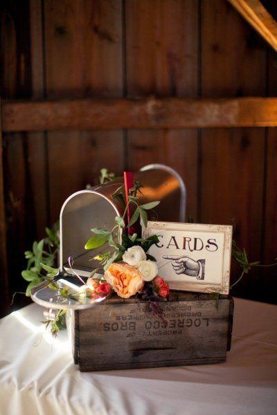 personnaliser urne de mariage