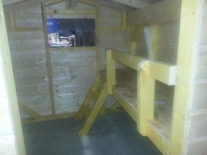 Mezzanine chalet en bois