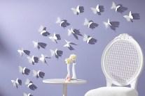 Butterfly Pattern Wall Decor