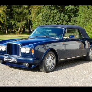 1989(G) Bentley Continental Convertible