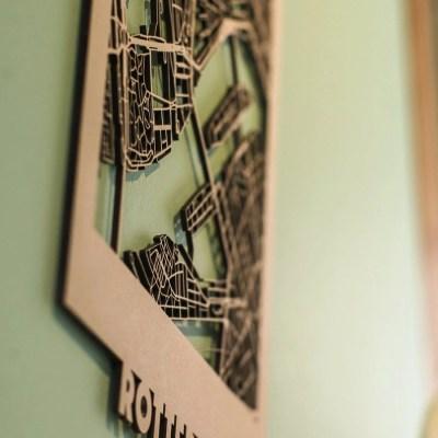 Citymap Rotterdam MDF (30x40)