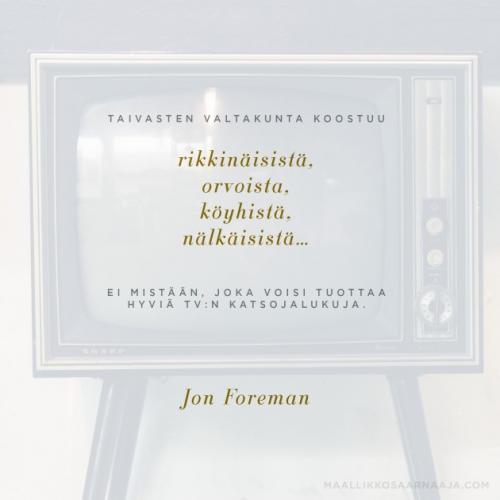 Taivasten valtakunta - John Foreman