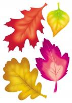 «Осенние листья». Витражи из бумаги. Воспитателям детских ...