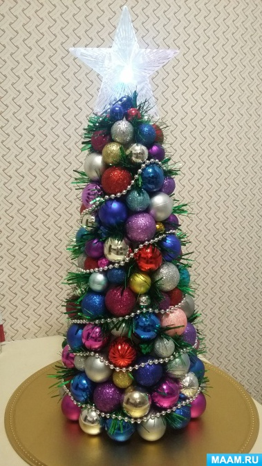 """Master class """"Christmas tree from New Year"""