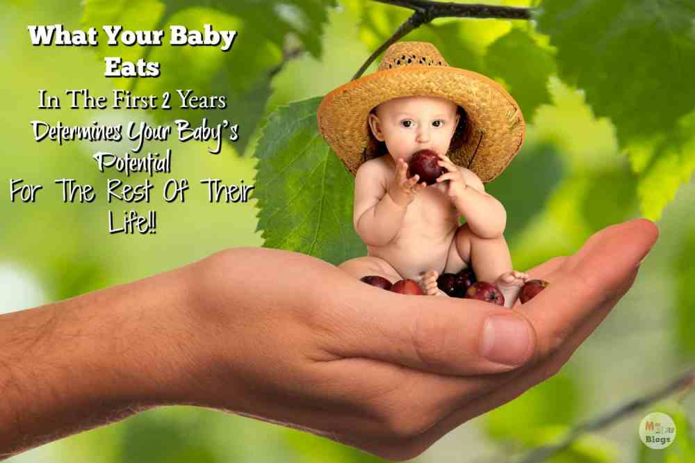What Your Baby Eats In The First Two Years, Determines Your Baby's Potential For The Rest Of Their Life!! First 1000 Days Of A Child