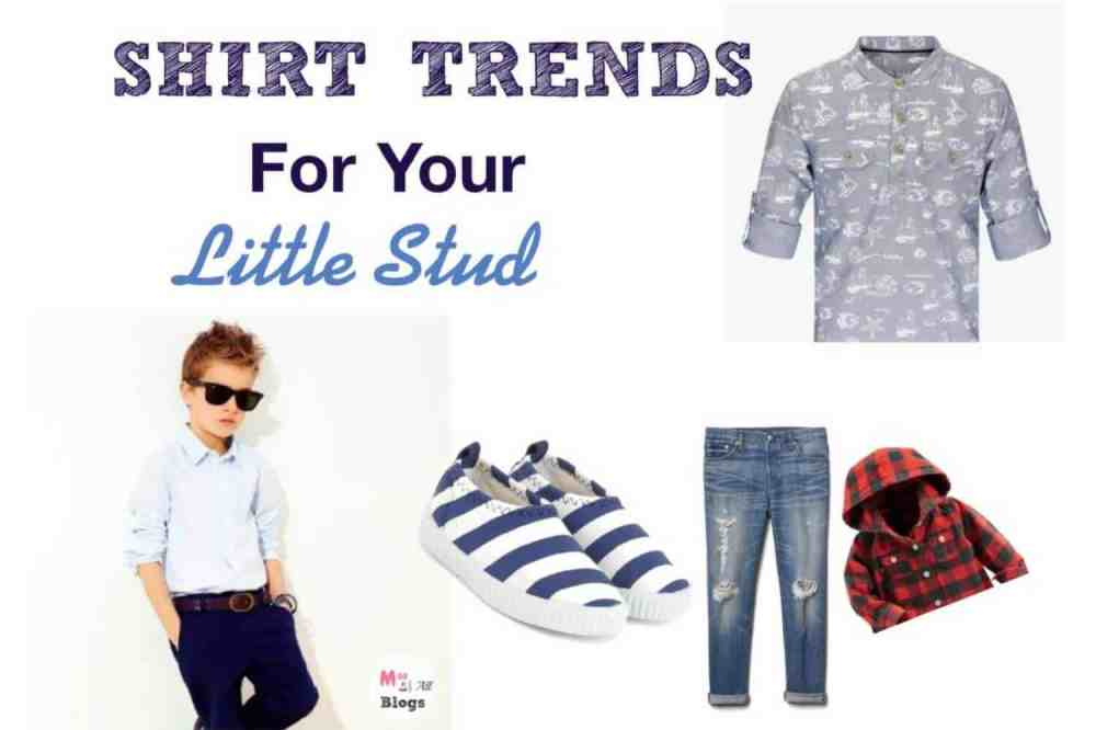 Smart Shirt Trends For Your Little Studs